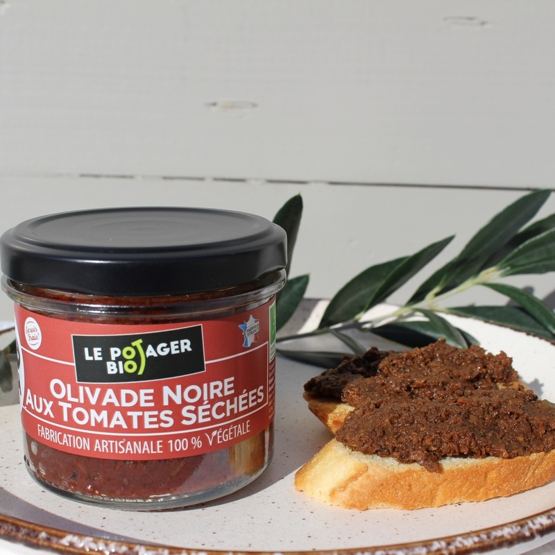 Ms Olivade Noire Tomates Sechees