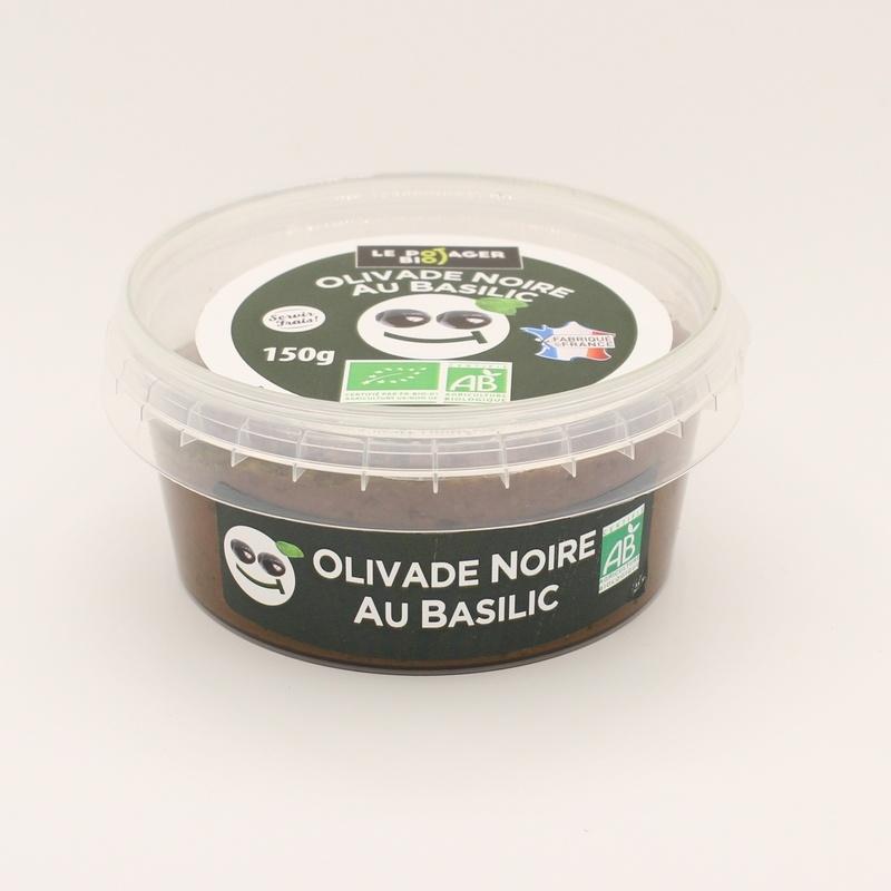 Olivade Noire Basilic